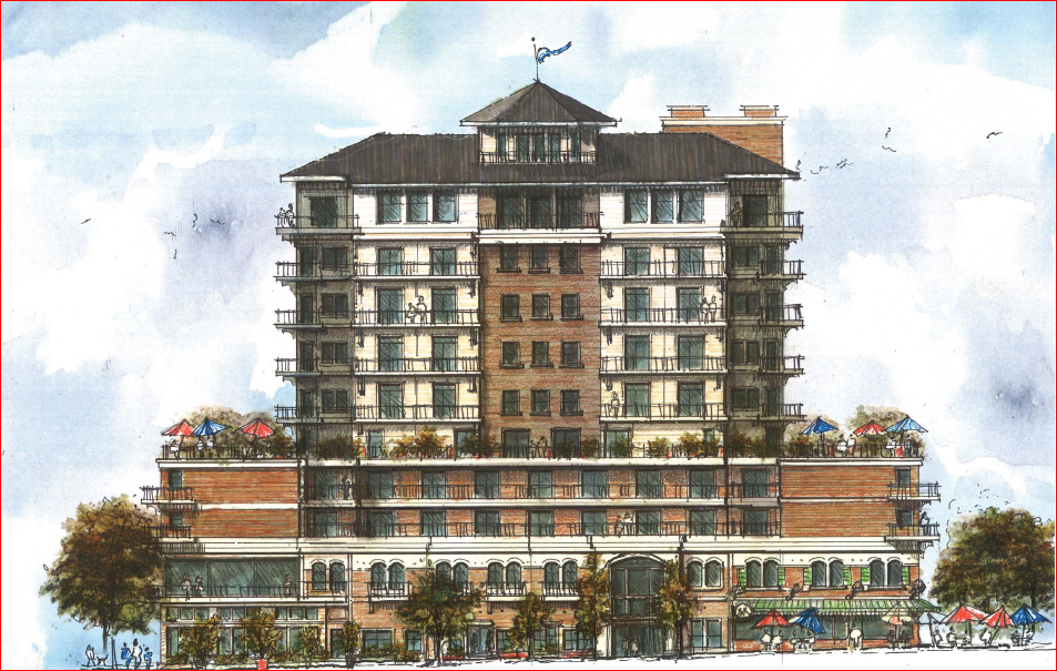 Color photo of the Phase 1 Edgewater Project
