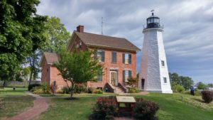 Charlotte Genesee Keeper's House and Lighthouse Tower